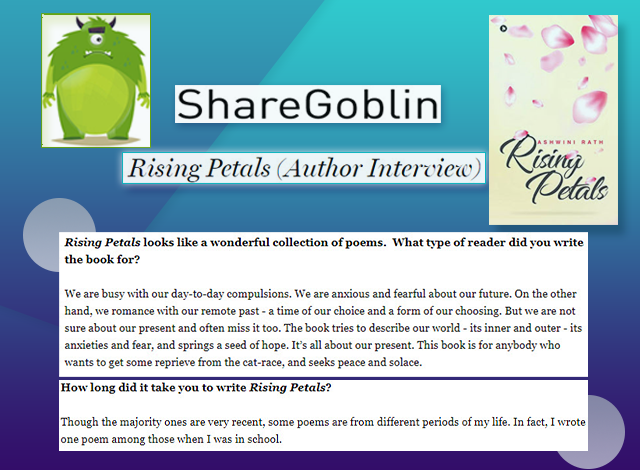 Online Interview on the Debut Poetry Anthology Rising Petals
