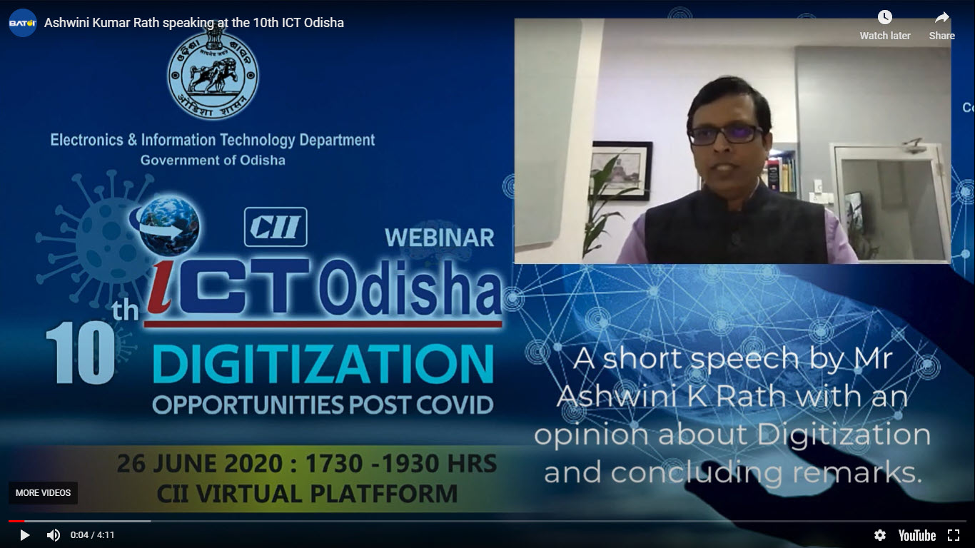Speaking at the 10th ICT Odisha