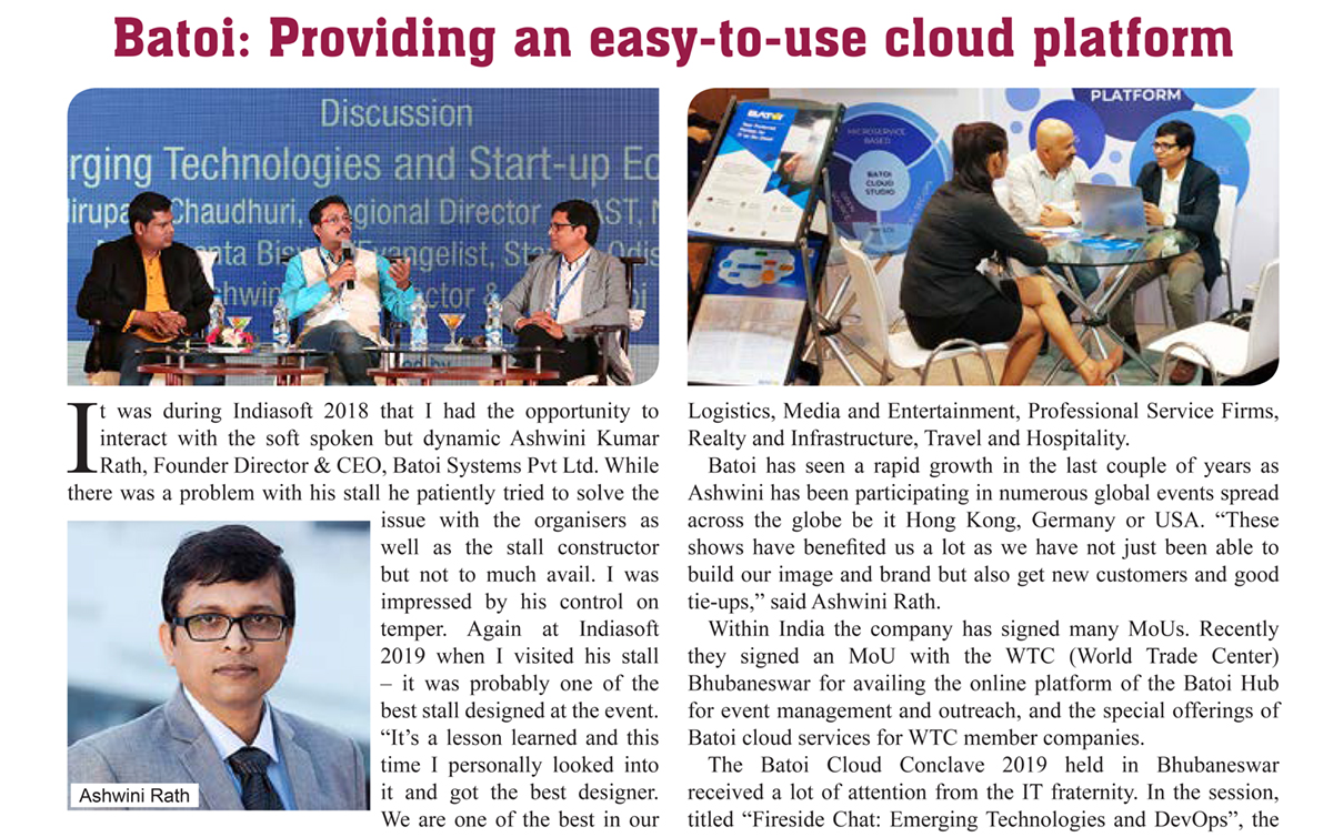 Tradefair Magazine Global Technologies Featured Ashwini and his Business