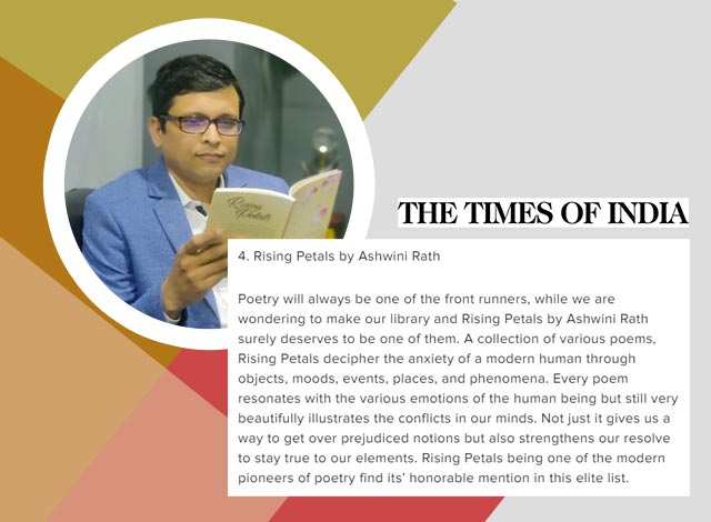 Rising Petals among the Seven Books Worth Reading This New Year Listed by the Times of India