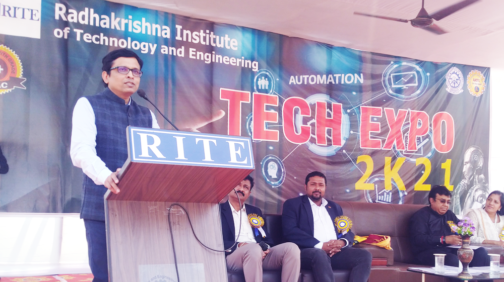 Tech Expo of Radha Krishna Institute of Technology and Engineering