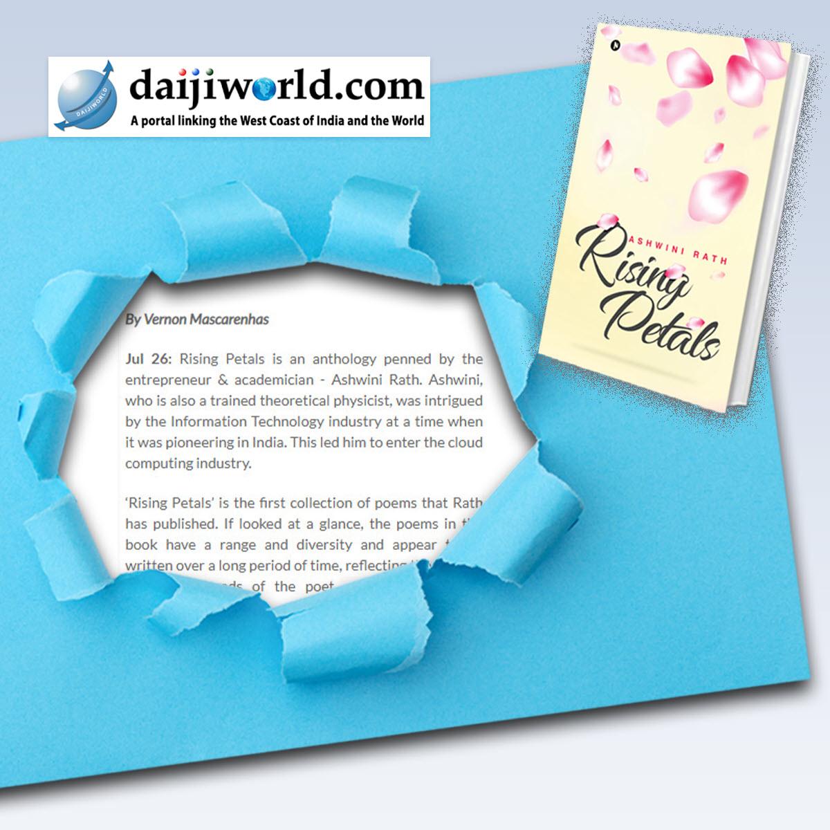 Rising Petals Featured in Daijiworld